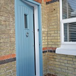 Front door for 2 coastguard cottages, keyhaven holiday home