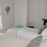 Second bedroom, 2 coastguard cottages, Keyhaven holiday home