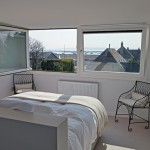 Master bedroom for 2, Coastguard Cottages, Keyhaven holiday home