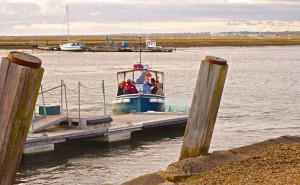 Ferry from Keyhaven from Hurst Castle